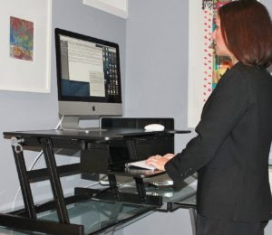 Rocelco ADR Sit/Stand Desk